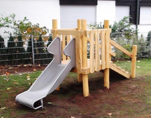 Speeltoren Lauf am Holz