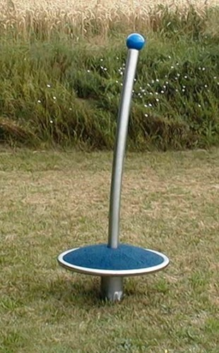Draaicaroussel verzinkt 60 cm