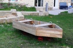 Veerelement Wackelboot