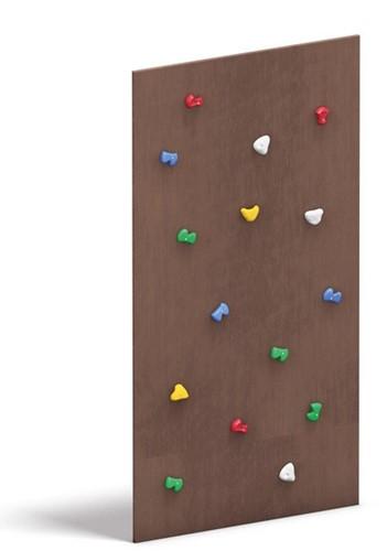 Klimtoestel houten klimwand
