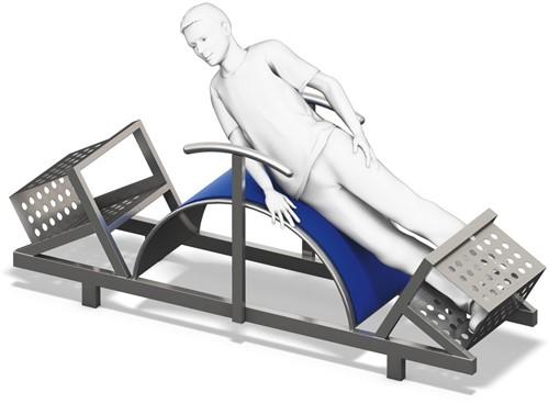 4FCircle outdoor fitnesstoestel heffen bovenlichaam