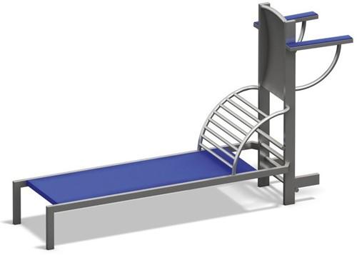 4FCircle outdoor fitnesstoestel combi situps/beenheffen