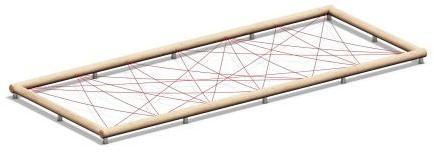 4FCircle outdoor fitnesstoestel spinnenweb
