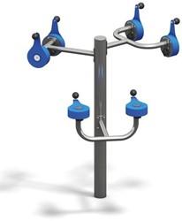 4FCircle outdoor fitnesstoestel ergometer bovenlichaam