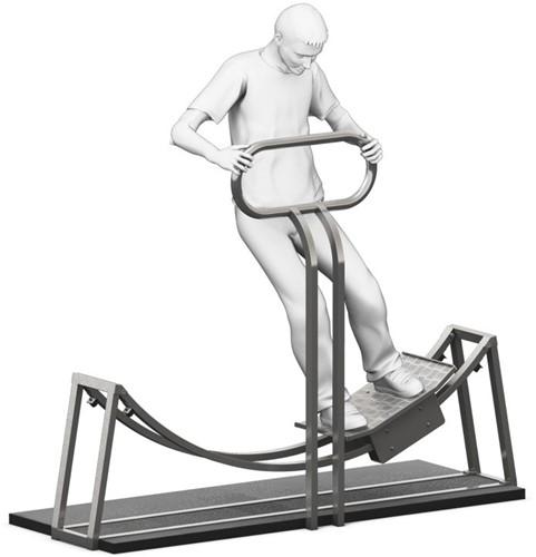 4FCircle outdoor fitnesstoestel heupswing