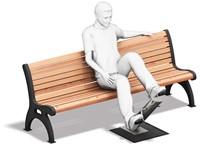 4FCircle outdoor fitnesstoestel pedalen-2
