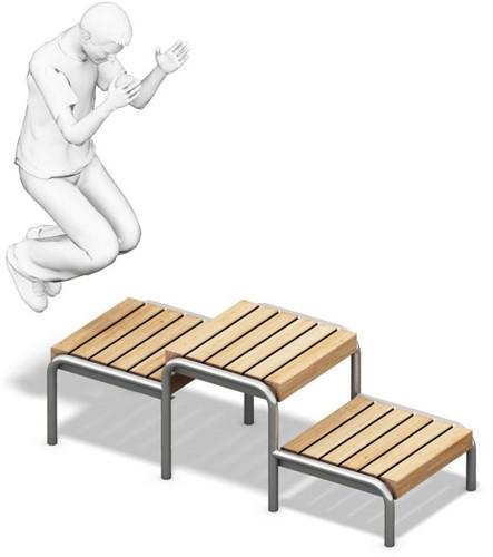 4FCircle Calisthenics squat-platform
