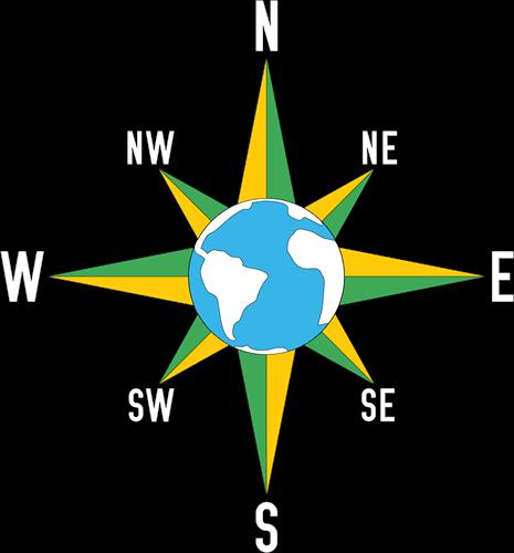 Pleinplakker Aarde kompas