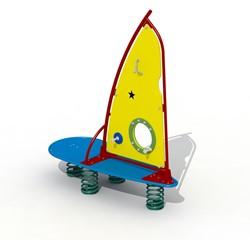 Veerfiguur Surfplank