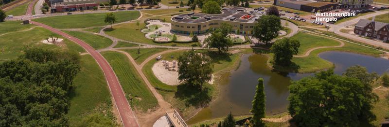 Watertorenpark Hengelo, een bijzonder project met veel natuurlijk spelen