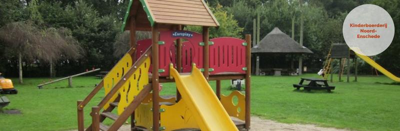 Kleurig rovershol bij Kinderboerderij Noord Enschede