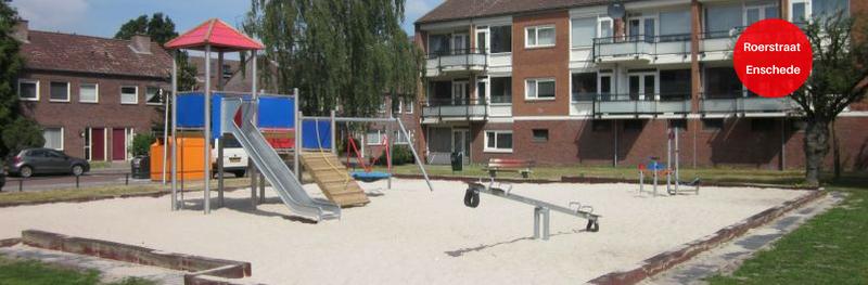 Duurzame speelplek voor Roerstraat in Enschede
