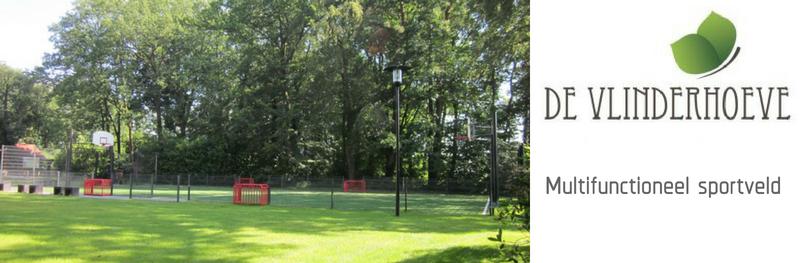 Multifunctioneel sportveld siert Buitengoed de Vlinderhoeve