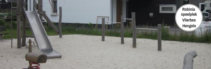 Veilig speelplekje bij de Vlierbes in Hengelo