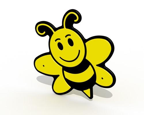 Decoratief bord Bijen
