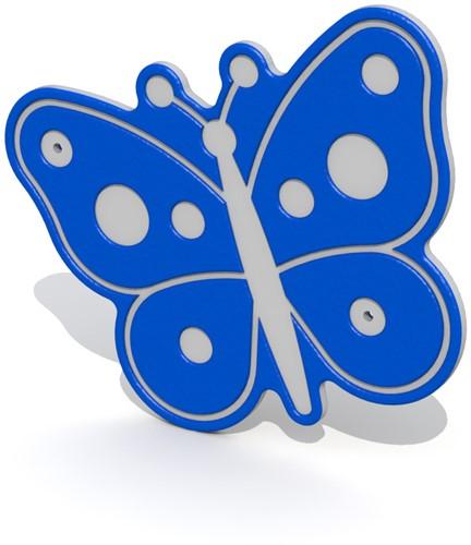 Decoratief vlinder bord