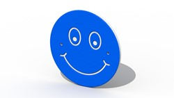 Decoratief bord Smiley
