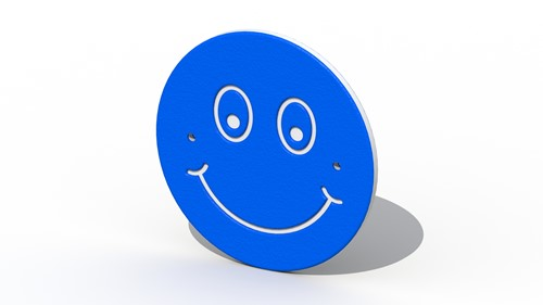 Decoratief smiley bord