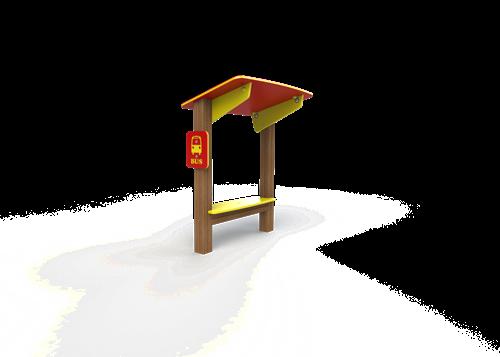 Pleinplakker accessoire bushalte