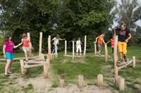 ECO-Play robinia behendigheidsparcours Junglepad, type B-2