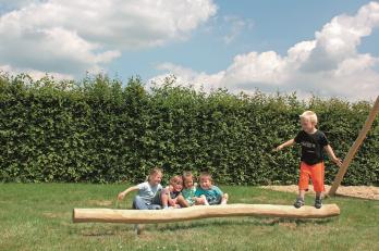 ECO-Play robinia evenwichtsbalk-2