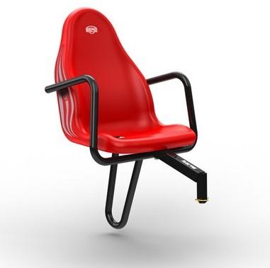 BERG Passenger seat Case-IH, rood (duostoel)