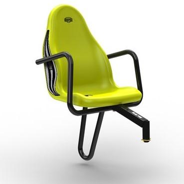 BERG Passenger seat Claas, groen (duostoel)