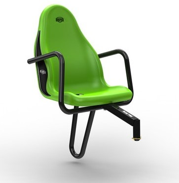 BERG Passenger seat Deutz Fahr, groen (duostoel)