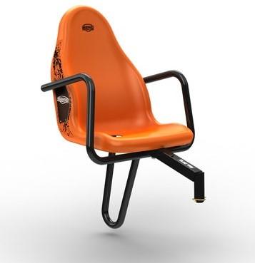 BERG Passenger seat X-Cross, oranje (duostoel)