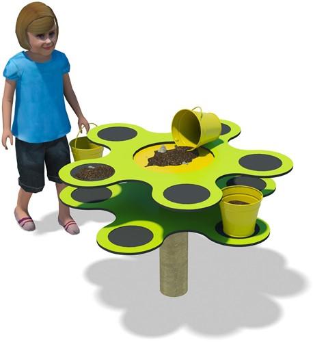 Schnulli - Tuin - Experimenteertafel