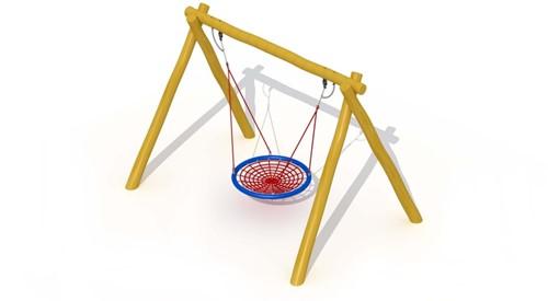 ECO-Play vliegende schotel, robinia