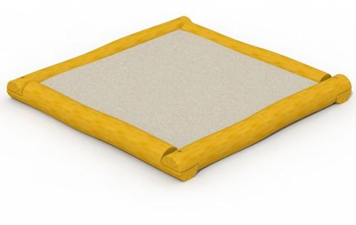 ECO-Play zandbak, afm. 2 x 2 m