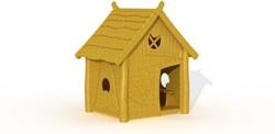 ECO-Play robinia peperkoekenhuisje