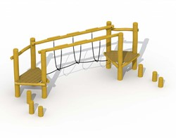 ECO-Play robinia behendigheidsparcours B