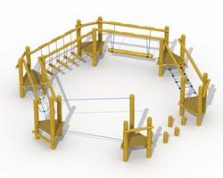 ECO-Play robinia behendigheidsparcours  I
