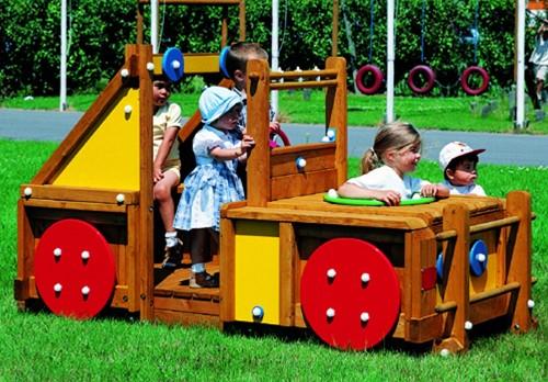 Speelelement Terreinwagen (gemonteerd)