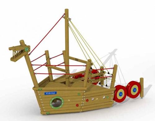 Speelelement Vikingboot (voorsteven)