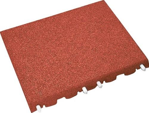 euroflex tegel 150 cm 50 x 50 rood - per m^2