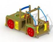 Speelelement Terreinwagen (gemonteerd) - montage op de grond (type B)
