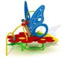 Speeltoestel Vlindertuin - montage op de grond (type B)