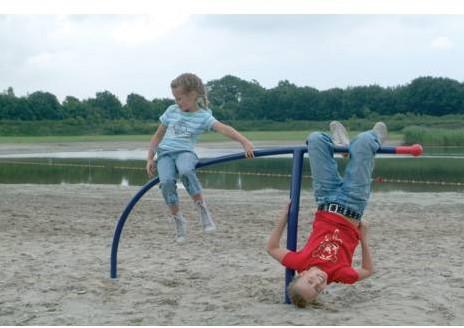 Funky duikelrek met kinderen