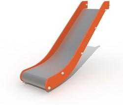 Glijbaan voor platformhoogte  90 cm, rvs