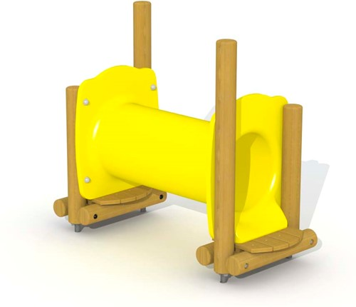 Speelelemtent Kruiphol - montage op de grond (type B)
