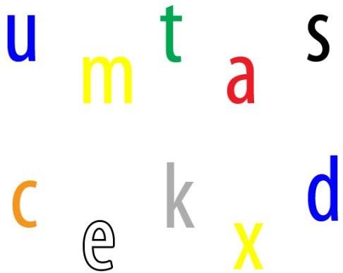 Pleinplakker Letters/cijfers