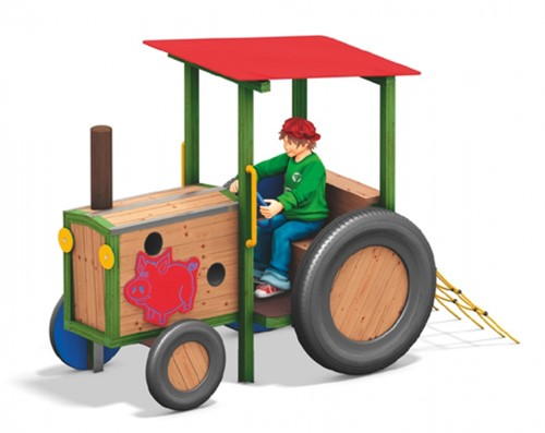 Speeltoestel Tractor Hunamog