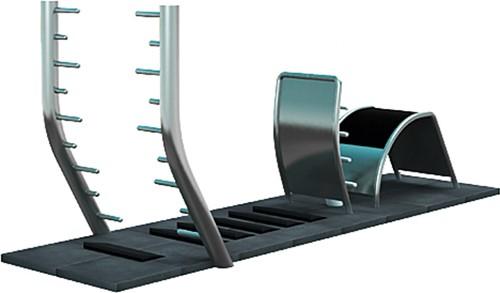 4FCircle outdoor fitnesstoestel TRIMMFIT-fitnesszone