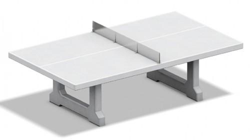 Tafeltennistafel beton blad