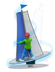 Balanceertoestel HIP-HOP Surfer