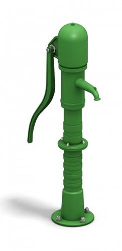 Waterspeeltoestel,  waterpomp voor aansluiting op waterleiding