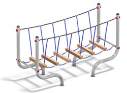 Balanceertoestel FunRun Balkenbrug